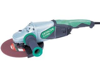 Hitachi 240 volt angle grinder
