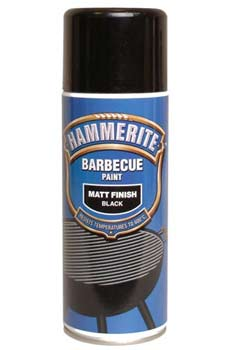 Spray paint to barbecues