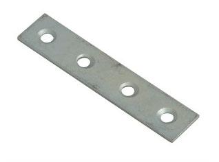 Zinc coated mending plate