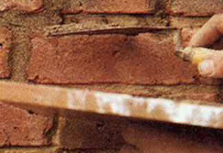Repointing mortar joints