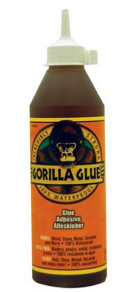Gorilla glue for use when gluing gate