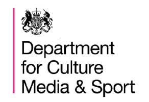 Logo for Department of Culture Media and Sports