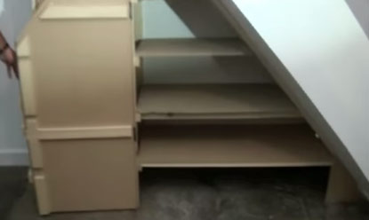 Double Hinged Doors On Under Stairs Cupboard
