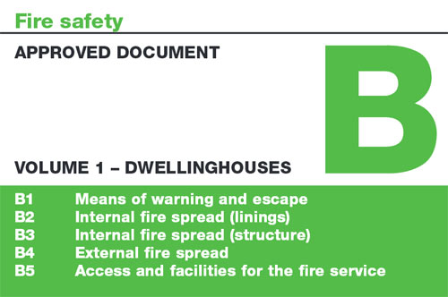 Building Regulations Approved Documnet B Volume 1