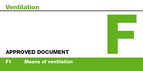 Approved Document F of the Building Regulations