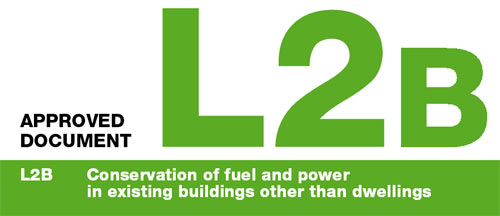 Building regulations approved document L2B