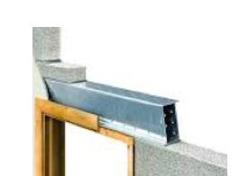 Lintel for internal masonry wall