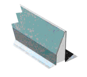 Steel cavity lintel with insulation