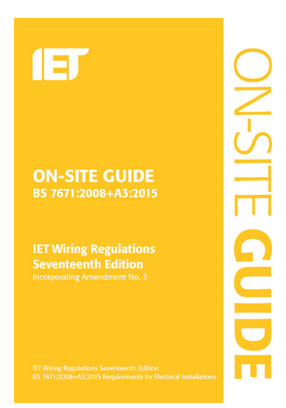 Amendment 3 is part of the On Site Guide 17th Edition