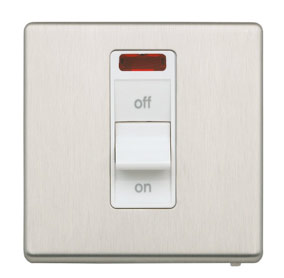 Cooker switch for high current rating