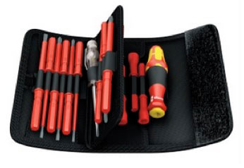 VDE electricians screwdriver set