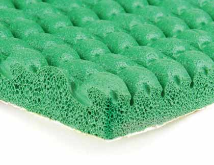 Sponge rubber underlay
