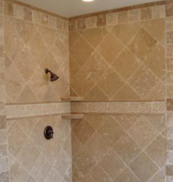 How to lay wall tiles to different patterns