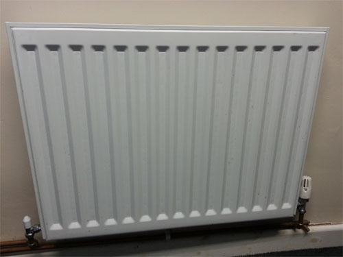 Modern convector radiator