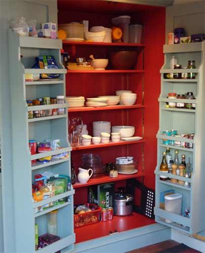 Bespoke kitchen larder unit
