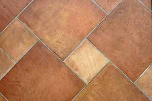 Pinwheel Floor Tile Pattern