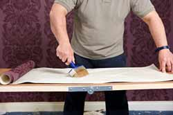 Applying Wallpaper Paste