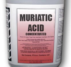 Muriatic acid concentrate