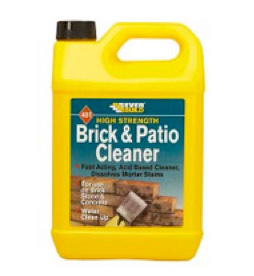 Everbuild brick and patio cleaner