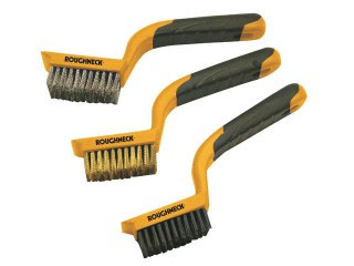 Wirebrush set for cleaning brickwork