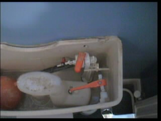 Toilet cistern internal components