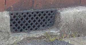 Add an airbrick to your blocked up fireplace to reduce chimney damp