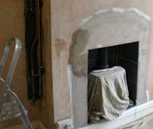 Hygroscopic salts can cause damp issues in your walls especially round chimney stacks and fireplaces where salts collect