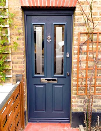 Composite Doors Including Fitting And Hanging Composite