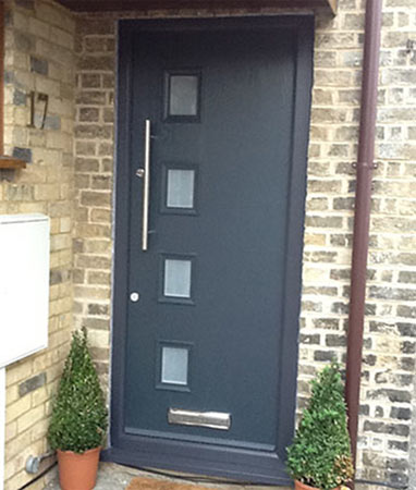 Modern style contemporary door