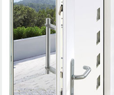 Composite door multipoint locking system