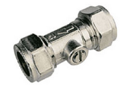Cold water isolation valve