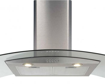Modern cooker hood extractor fan