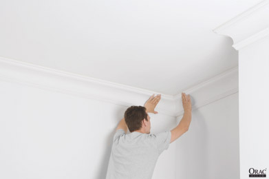Fitting internal and external coving mitre joints