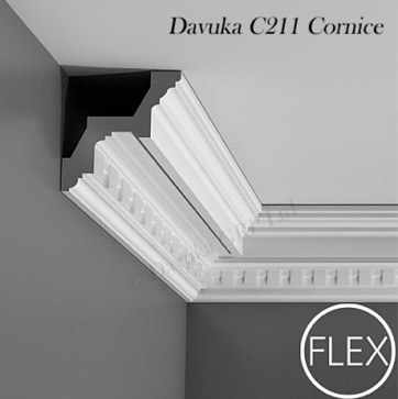Dentil Block Cornice and Coving
