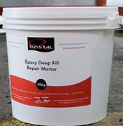 Epoxy repair mortar for cracks and holes in concrete