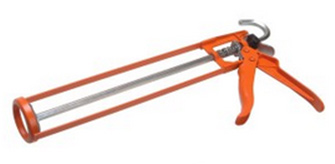 Applicator gun or mastic gun