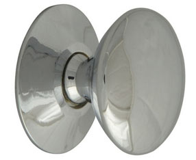 25mm Chrome finish cupboard knob