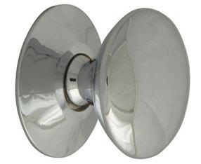 25mm Chrome finish cupboard knob