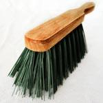 Brush for applying resin