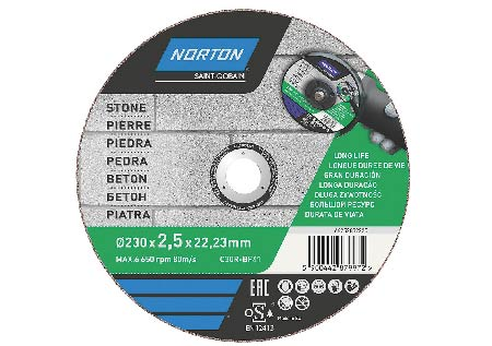 6-inch diamond stone cutting disc for a 6 inch grinder
