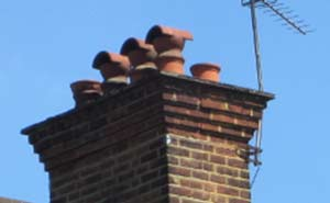 Add cowls to your chimney pots to improve ventilation