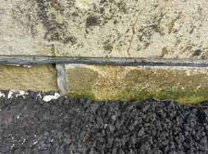 A typical Damp Proof Course (DPC)
