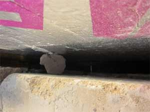 Mortar left in your cavity can give damp a direct route to your internal wall