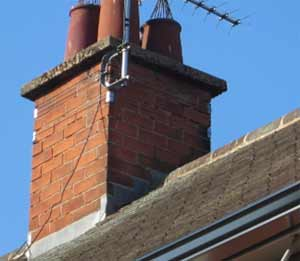 Chimney flashing in good condition will protect your stack and damp from damp