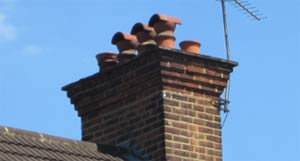 Add a cowl to your chimney to provide ventilation