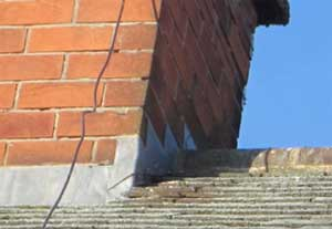 Mortar missing from your chimney stack can allow damp and cold air to enter your stack and cause problems on the surface of your chimney breast