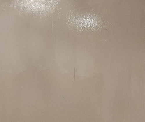 Pleasterboard sealed using PVA