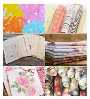 Materials for decoupage