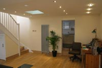 Completed job - Full converted basement area with stair case