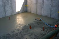 Create basement floor